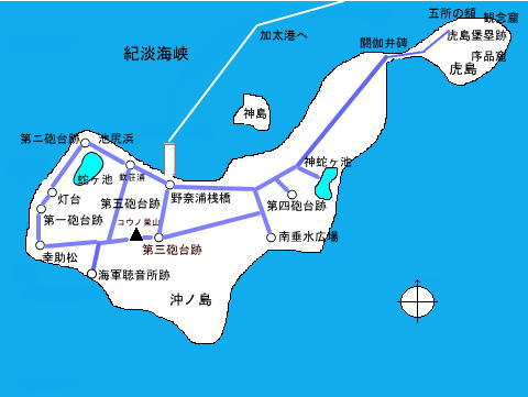 加太観光協会マップ